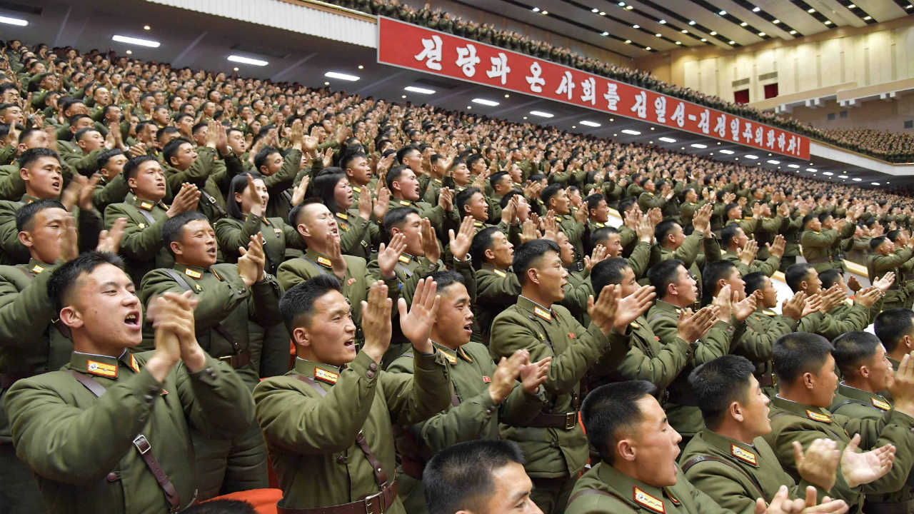 No. 4 | North Korea| Total available active military manpower: 1,280,000 (Image: Reuters)