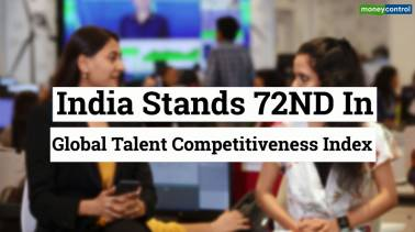 India ranked 72nd in Talent Competitiveness