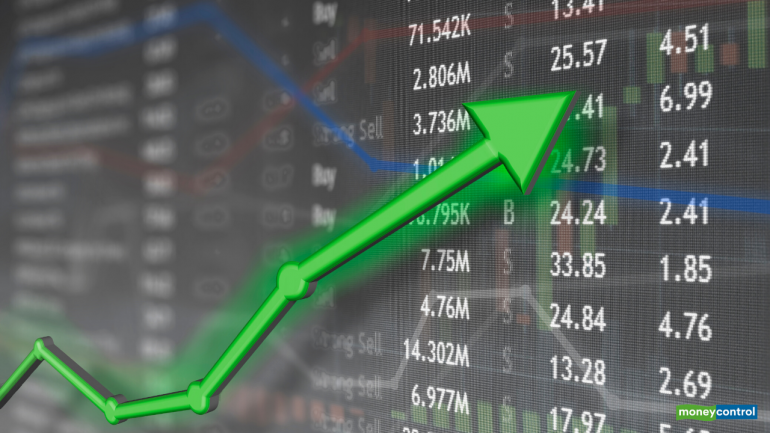 Sensex gained 1,000 points in 36 sessions to scale Mt 42K; over 300 stocks up 10-100% - Moneycontrol.com thumbnail