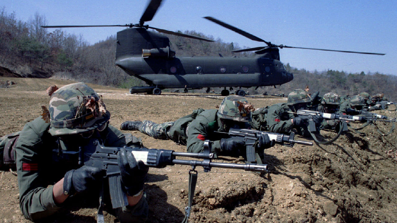 No. 7 | South Korea | Total available active military manpower: 625,000 (Image: Reuters)