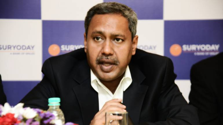Baskar Babu Ramachandran, MD and CEO, Suryoday Small Finance Bank