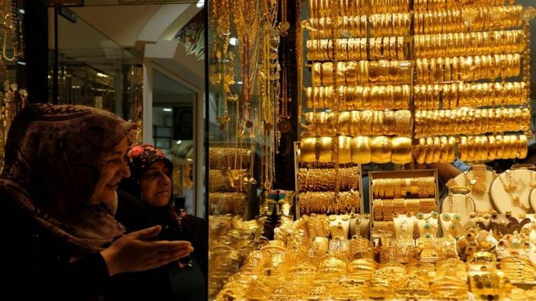 Gold price steady at Rs 40,817 per 10 grams, silver slips - Moneycontrol.com thumbnail