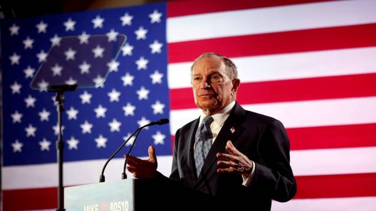 Bloomberg would sell his business interests if elected president.