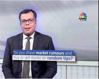 Invest, but don't follow rumors