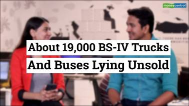 19,000 BS-IV trucks, buses lying unsold