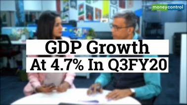 GDP growth at 4.7% in Q3FY20