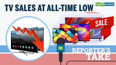 Reporter's Take | TV sales at all-time low