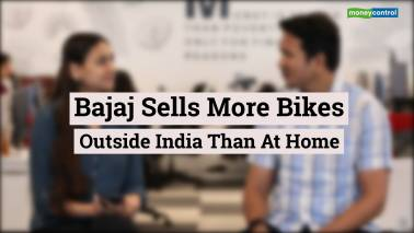 Bajaj Auto exports surpass domestic sales