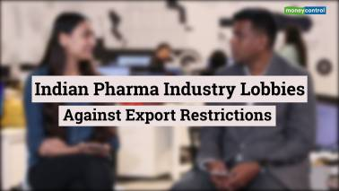 Pharma companies oppose export ban