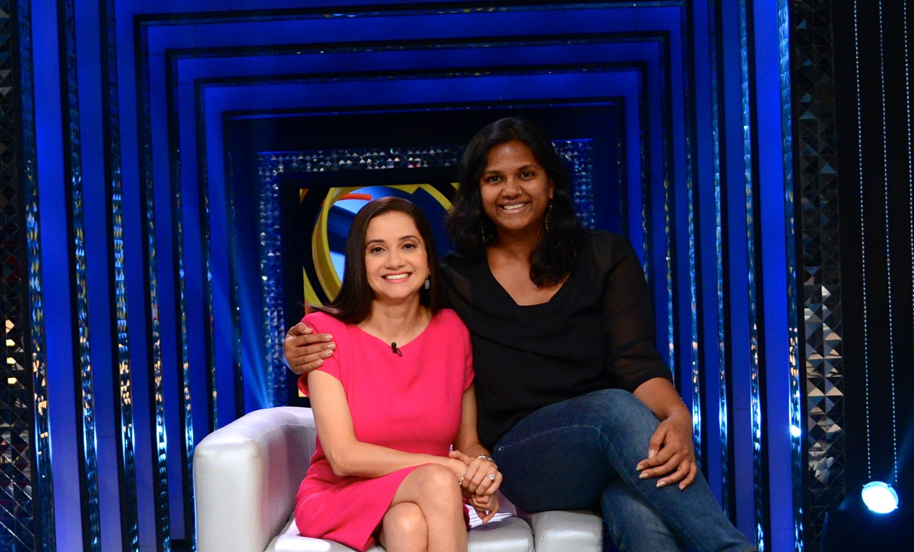 Smriti Kiran and Anupama Chopra.
