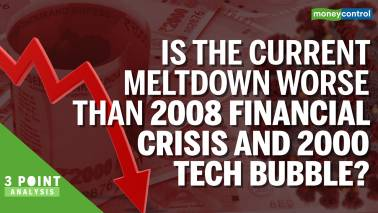 Is the current meltdown worse than 2008 & 2000